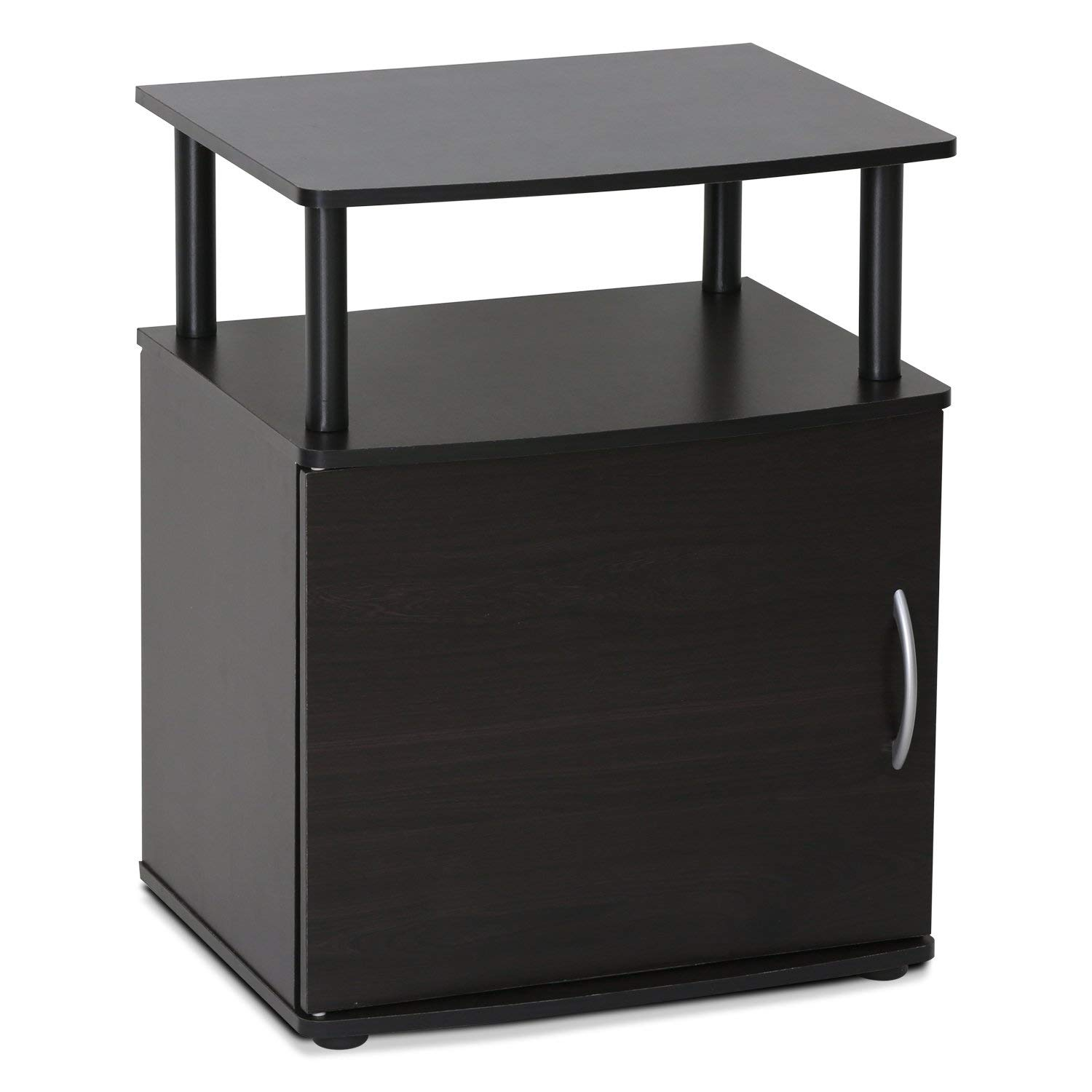 Furinno 15114BKW Jaya End Table, Black Wood